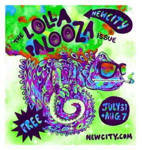Newcity's Lollapalooza Issue Cover 2014