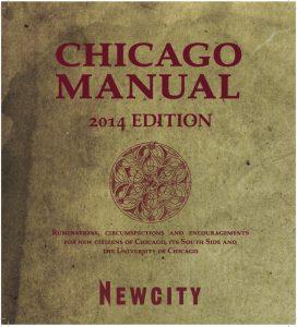 Chicago Manual 2014